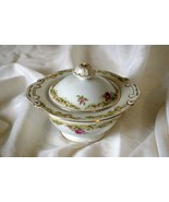 Aladdin American Rose Pink Covered Sugar Bowl - $15.74