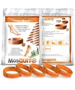 MosQuitO Repellent Bracelets 10 Pack - All Natural Ingredients Insect Re... - $14.47