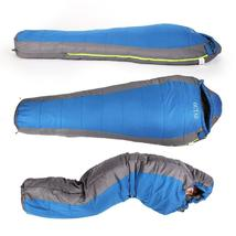 Portable Outdoor Winter Mummy Type Adult Lightweight Cotton Sleeping Bag - $53.88