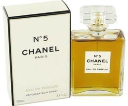 CHANEL NO. 5 BY CHANEL FOR WOMEN 3.4 OZ EAU DE PARFUM NEW>>>VALENTINE GI... - $138.99
