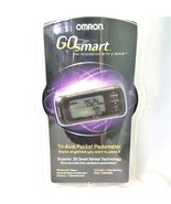 OMRON Go Smart Tri-Axis Pocket Pedometer HJ-303 New Sealed Package - $39.88