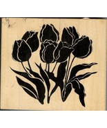 A Stamp in the Hand Rubber Stamp, 1982-I Spring Tulips B3 - $12.59