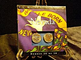 Two Uncirculated Nevada State Quarters AA19-CNQ6032 image 4