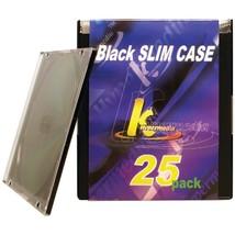 Khypermedia Slim Jewel Cases, 25 Pk HOOKCDPSSBK25P - $19.48