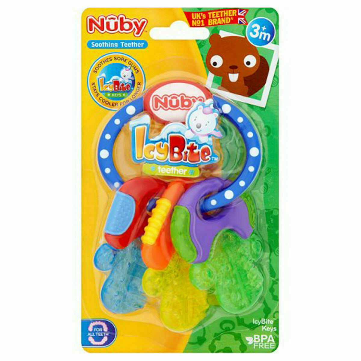 Primary image for Nuby Teether Icy Bites Keys