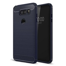 LG V30 Case , Vinve [Slim Thin] Carbon Fiber TPU Shock Absorption Anti-S... - $9.78