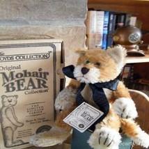 """Boyds Bears Mohair """"Garner J Cattington"""" 10"""" Mohair Cat- #590250-11 -NWT- 1998-  - $29.99"""