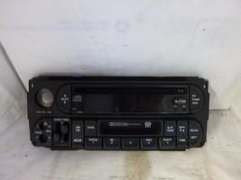 02-07 Dodge Chrysler Jeep Radio CD Cassette Face Plate P05064300AD JC8203 - $13.34