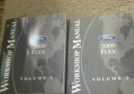 2009 ford flex workshop service repair manual set factory oem 2 volume set - $99.44