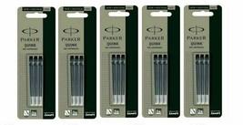 15 x Parker BLACK Ink Cartridge / Refills For Ink / Fountain Pen Vector Frontier - $13.55