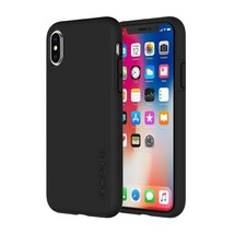 Incipio Dual Pro Shockproof Hybrid Case for iPhone X Black Free Delivery - $36.82