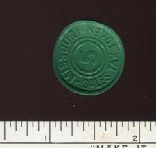Vintage Missouri 5 cent Sales Tax Token Plastic Warped - $2.99