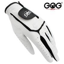 GOG Golf gloves Genuine sheepskin leather for men left hand white Breath... - $11.99+