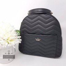 NWT Kate Spade New York Reese Park Ethel Black Quilted Leather Backpack Bag New - $239.00