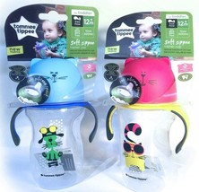 2 Tommee Tippe Soft Sippee Natural Transition Trainer Cup Toddler 12+m P... - $16.98