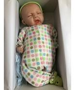 "Paradise Galleries Reborn Sleepy Frog Boy Doll (Bib Plays ""Rock-a-Bye Ba... - $88.46"