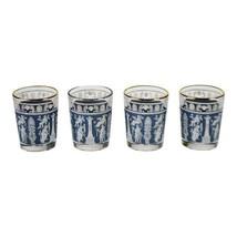 Vintage 1960's Corinthian Blue Jeannette Glass Cordial Glasses - Set of 4 - $95.00