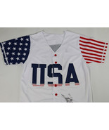 New USA Baseball Jersey #45 Commemorative Edition Baseball Jersey Stitch... - $27.99