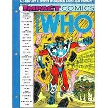 D.C. Comics Who's Who In Impact Comics #1 Loose Leaf - £5.45 GBP