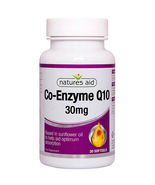 NATURES AID - CO-EMZYME Q10 - 30mg - FOR HEART, BRAIN & LIVER HEALTH - 3... - $33.00