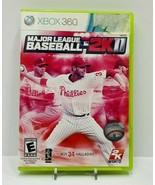 Major League Baseball 2K11 Xbox360 - $5.90