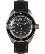 Vostok Komandirskie 020787 Mens Russian Military Wrist Watch Automatic New - $109.90