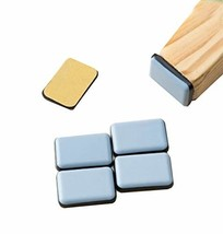 Maya Star 8PCS Non-Slip Self Adhesive Furniture Glides Square Furniture Moving P - $15.37