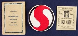Ephemera Lot, Reliable Life & Safeway Needle Ads, Tulsa Stamp Club & Wil... - $4.74