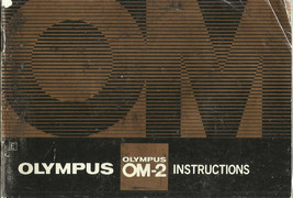 Olympus OM-2 English Instruction Manual/Booklet - $4.95