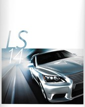 2014 Lexus LS 460 460L 600hL brochure catalog 14 HYBRID F SPORT - $10.00