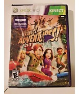 Microsoft Xbox 360 Kinect Adventures Game with manual - $6.92