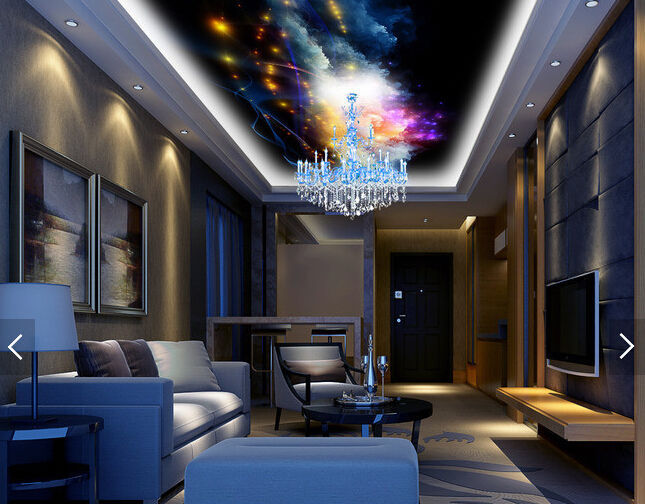Primary image for 3D Dream Night Star 1 WallPaper Murals Wall Print Decal Deco AJ WALLPAPER GB