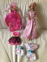 VINTAGE 1993 Barbie Clone Lucky Mini Mod Doll & Lucky Fashions - $39.59