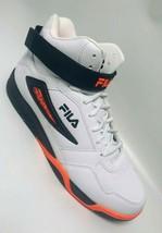 Men's Fila Multiverse White | Orange | Black Fashion Sneakers  - $69.00