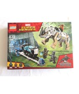 Lego 76099 Marvel Super Heroes Rhino Face-off By The Mine Black Panther ... - $21.99