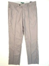 Tommy Hilfiger Golf Malcolm Gray Straight Fit Flat Front Golf Pants Men's NWT - $86.24