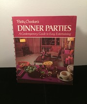 Vintage 1970 Betty Crocker's Dinner Parties Cookbook- hardcover