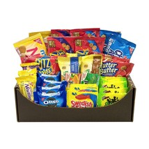 Cookies And Crackers Variety Snack Box (40 ct.) - $59.83