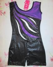 NWT Girls Size 4 6 8 Biketard Child Dance Gymnastics Unitard Leotard SC ... - $14.98