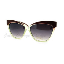 Women's Butterfly Frame Sunglasses Oversized Square Cateye Shades - $8.86+