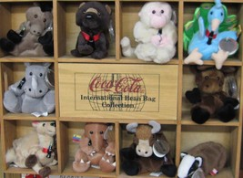 Coca-Cola 10  Bean Bag International Collection - Set 3 - NEW - $89.05