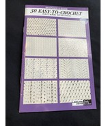 Beginner's Guide 30 Easy-To-Crochet Pattern Stitches  (Leisure Arts #75071) - $5.00