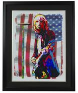 Tom Petty Framed 18x24 Artist Print - $138.59