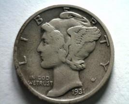 1931-S MERCURY DIME VERY FINE / EXTRA FINE VF/XF VERY FINE /EXTREMELY FI... - $19.00