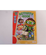 PBS Kids Super Why Activity Book Color Rhyme Crosswork Activity Book By ... - $2.95