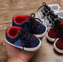 Soft Bottom 0-18 Months Baby Toddlers Shoes Fashion Walking Shoes #1112 image 3