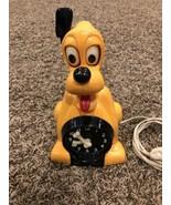 Pluto Disney Animated Clock 1956 Allied MFG  Rare Black Version - $792.00