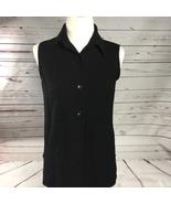 Women's White Stag Stretch Black Button  - $13.00