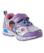 Disney Junior Doc Mcstuffins Light up Shoes Size 6 7 8 9 10 12 Stuffy La... - £11.62 GBP+