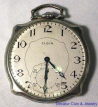 Vintage Elgin Pocket Watch Gold Filled Watch Lessing Lodge C2491 - $250.49